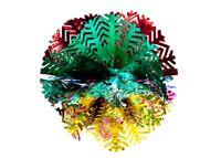 """купить Снежинка-шар разноцветная из фольги """"елочки-концы"""" в Кишинёве"""