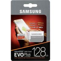 Samsung EVO Plus 128GB MicroSD (Class 10) UHS-I (U3) +SD adapter,