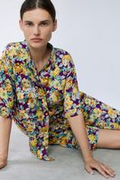 Блуза ZARA Цветочный принт 2183/245/611