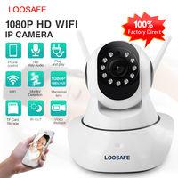 IP-камера с датчиком движения и ночным видением LOOSAFE LS-F2. Видеоняня