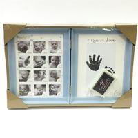 Рамка для фото-коллаж Baby, книга, 3.5x3.5 см, 12 фото