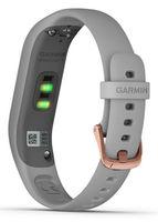 Brățară pentru fitness Garmin Vivosmart 4 Silver S/M with Grey Band
