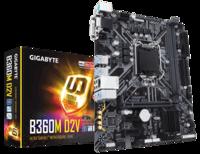 Материнская плата GIGABYTE B360M D2V