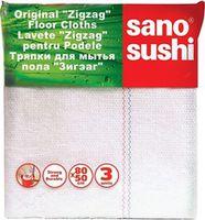купить Sano Sushi Zigzag Тряпка для пола (3 шт) 295121 в Кишинёве