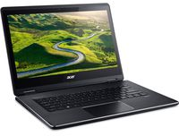 "ACER Aspire R5-471T Black (NX.G7WEU.006) 2-in-1 Tablet PC 360°, 14.0"" IPS TOUCH FullHD (Intel® Core™ i3-6100U 2.30GHz (Skylake), 4Gb DDR3 RAM, 128Gb SSD, Intel® HD Graphics 520, CardReader, WiFi-AC/BT4.0, 4cell, HD Webcam, RUS, W10HE, 1.9kg)"