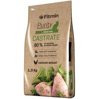 Сухой корм для кошек Fitmin Purity Castrate 1.5kg
