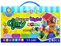 """купить Пластилин """"Super light clay"""" №1601, 24цвета в Кишинёве"""