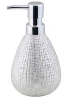 Дозатор жидкого мыла Testrut (129120) Silver