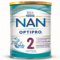 Nestle Nan 2 молочная смесь, 6+мес. 400г