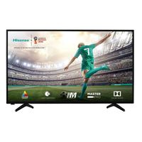 TV LED Hisense 43A5600, Black