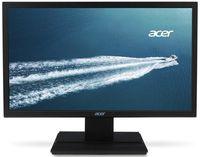 "19.5"" Acer ""V206HQLAb"", G.Black (1600x900, 5ms, 200cd, LED100M:1) (19.5"" TFT+WLED backlight, Full HD(16:9) 1600x900, 0.2768mm, 5ms, DC100000000:1 (600:1), 200cd/m2, 90°/65° (CR>10), H:30-80kHz, V:55-75Hz, D-Sub)"