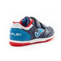 Футболные бампы JOMA - TOP FLEX JR 903 MARINO-ROJO INDOOR VELCRO