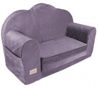 Sofa pentru copii Klups Velvet Violet