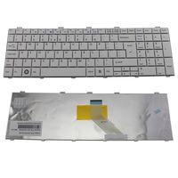 cumpără Keyboard Fujitsu Lifebook  AH530 AH531 AH512 NH751 A531 A530 A512 AH502 ENG/RU White în Chișinău