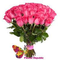 купить Букет из 35 роз Premiun 80-90 см в Кишинёве