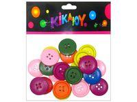 Set creativ de nasturi colorati