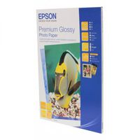 Epson Premium Glossy Photo Paper, 4R 255g 50p