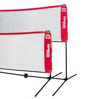 Plasa pentru tenis mare si badminton cu suporturi telescopice 3, 2 m Wilson (2274)