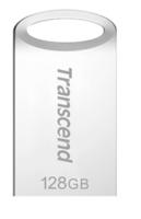 128GB Flash Drive Transcend JetFlash 710S Silver