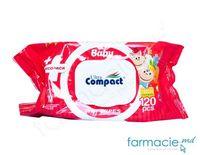Serv. umede pt copii Ultra Compact Ecopac Nr 120 cu capac