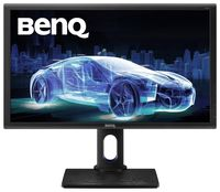 """27.0"""" BenQ """"PD2700Q"""", Black (IPS, 2560x1440, 4ms, 350cd, LED20M:1, DVI+HDMI+DP, HAS/Pivot, Spk) (27.0"""" AHVA (IPS) LED, 2560x1440 WQHD, 0.233mm, 12ms/4ms (GtG), 350 cd/m², DCR 20Mln:1 (1000:1), 100%sRGB : 1.07 Billion Colors, 178°/178° @CR>10, 30~83 KHz(H)/ 50~76Hz(V), DVI + DisplayPort1.2 + mini-DP + HDMI, Headphone-Out, Built-in speakers, USB 2.0 x2-Hub, Built-in PSU, HAS 130mm, Tilt -5/+20°, Swivel +/-45°, Pivot, VESA Mount 100x100, CAD/CAM mode, Flicker-free, Low Blue Light Mode, Black)"""