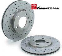 Тормозные диски ZIMMERMANN