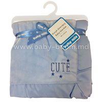 Baby Mix  SH-45551 CC Покрывало (80х110 см.) голубое