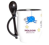 cumpără Cana cu lingurita – Moldova plai mioritic în Chișinău