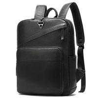 Рюкзак из натуральной кожи, черный