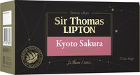 Чай в пакетиках Sir Thomas Lipton Kyoto Sakura черный с ароматом вишни, 25 шт.