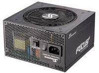 Блок питания ATX 650W Seasonic Focus Plus 650 80+ Platinum, полностью модульный, без вентилятора до 30% нагрузки