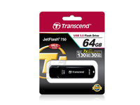 Flash Drive Transcend JetFlash 750 Black 64Gb