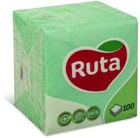 RUTA Салфетки столовые РУТА/100 зеленые