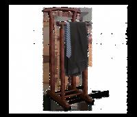 Вешалка для костюма напольная  темный орех/коричневый В1-84