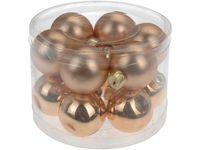 купить Набор шаров 12X40mm, золотых, в цилиндре в Кишинёве