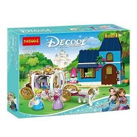 Decool конструктор Cinderella's Magic Night 530 дет.