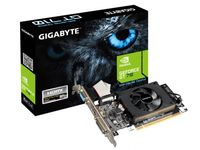 """Gigabyte GT710 2GB DDR3 Low Profile GeForce® GT 710, 2GB DDR3, 64 bit, Engine 954MHz, Memory 1600 MHz, Active Cooling, DVI-D *1, HDMI *1, D-Sub *1, GV-N710D3-2GL"""