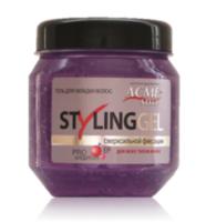 Gel pentru păr, ACME Styling, 250 ml., fixare extraputernică