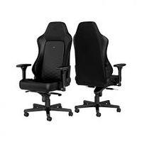 Игровое кресло Noble Hero NBL-HRO-PU-BLA Black / Black,