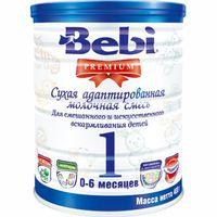 Bebi Детская молочная смесь Premium 1 для новорождённых 400gr.(0-6)