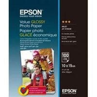 Epson Value Glossy Photo Paper, 4R 183g 100p
