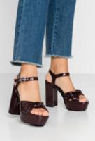 Sandale EVEN&ODD Visiniu întunecat even&odd sandals