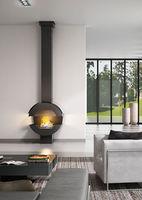 Камин - JC BORDELET LARA 912 - пристенный со стеклом