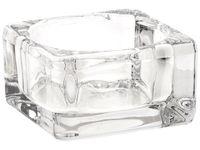 купить Подсвечник стеклянный низкий 5.8X5.8cm в Кишинёве