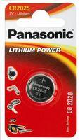 Батарейка Panasonic CR2025EL/6B