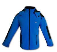 Софтшелловая куртка Classic синяя