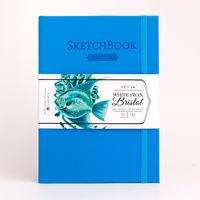 Скетчбу для графики и маркеров Bristol Touch, голубой, 180 г/м, А5 см, 50л