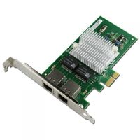 PCI-e Intel Server Adapter Intel I350AM2, Dual SFP Port 1Gbps