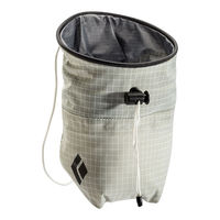 Мешок для магнезии Black Diamond Ultralight Chalk Bag, white, 630140