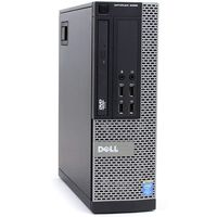 DELL 9020  SFF  Intel® Core™ i3-4130 3,4Ghz, 4096Mb DDR3  , SSD 120+ HDD 500GB , DVD, Win 10 Home